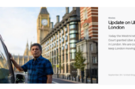 """Birleşik Krallık""""ta Uber Yargı Mücadelesini Kazandı!"""
