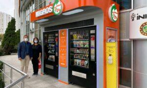 Türkiye'nin ilk süpermarket otomatı Ataşehir'de açıldı.