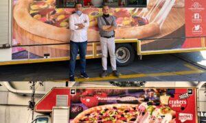 Crakers Pizza Mobil Aracı İle Hizmet Vermeye Başladı!