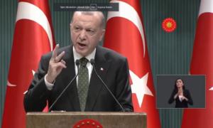 Cumhurbaşkanı Erdoğan Yeni Tedbirleri Açıkladı.Tedbirler Neler?Sokağa Çıkma Yasağı Nezaman?