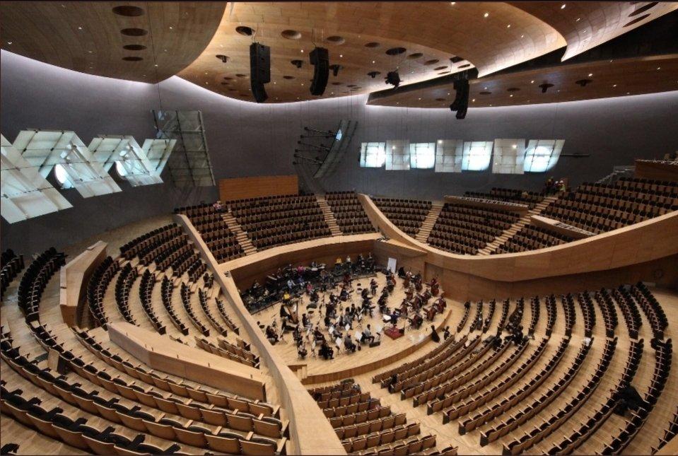 Cumhurbaskanlığı senfoni orkestrası yeni yerleşkesi 3 Aralık ' da açılıyor.