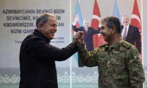 """""""Türk ve Rus askerlerinin görev yapacağı Ortak Merkez tamamlandı, yarın faaliyetlerine başlayacak."""""""