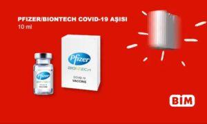 BİM Mağazası Aşı Reklam için Açıklama yaptı.