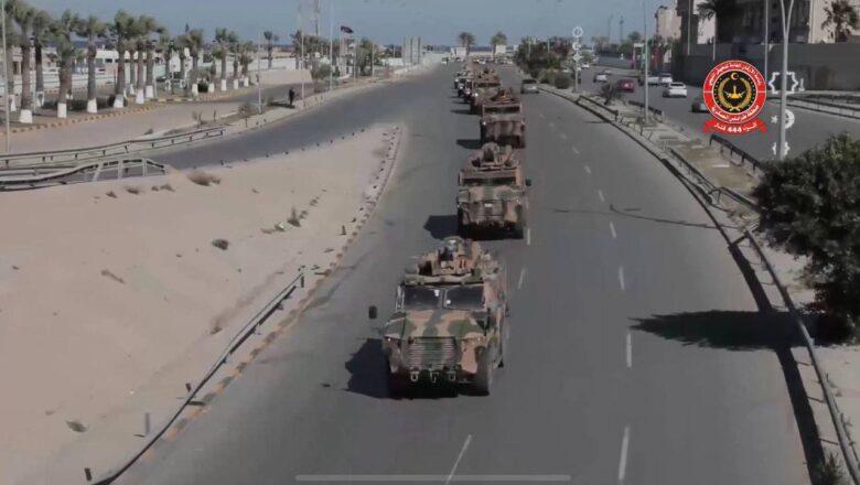 Türkiye Libya da Aktif olarak Kirpi Zırhlı araç kullanıyor!