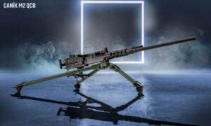 CANİK M2 12,7 mm makineli tüfeklerin seri üretimine başladığını duyurdu.