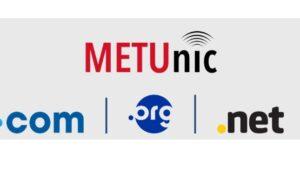 Müjde! .com .net ve .org artık METUnic'de.!