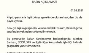 Maliye Bakanlığı; Kripto para düzenleme açıklaması! SON DAKİKA