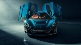Rimac Nevera elektrikli hiper otomobili tanıtıldı! Sadece 150 Araç Üretilecek.