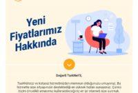 Türknet İnternete zam yaptı!