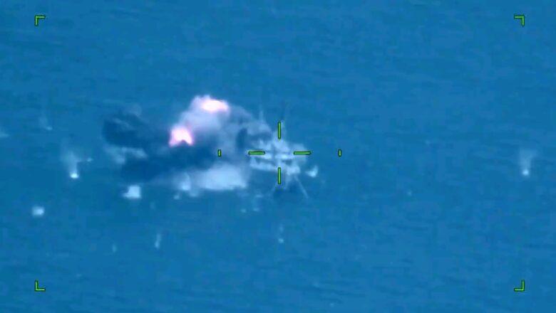 Atmaca Milli Gemi TCG Kınalıada'dan atıldı, görevini başarıyla yerine getirdi!