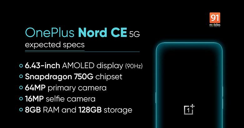 OnePlus Nord CE 5G 10 Haziran'da Tanıtılacak
