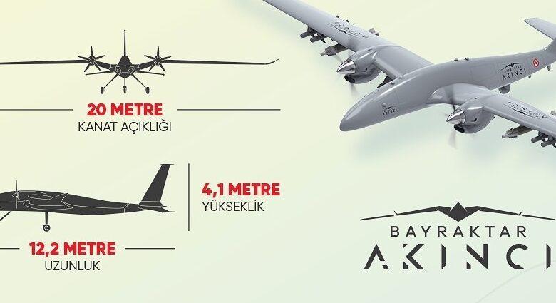 Taarruzi İnsansız Hava Aracımız AKINCI'nın Özellikleri